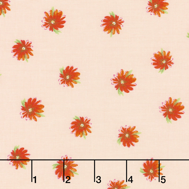 Kaleidoscope - Flowers Blush Yardage