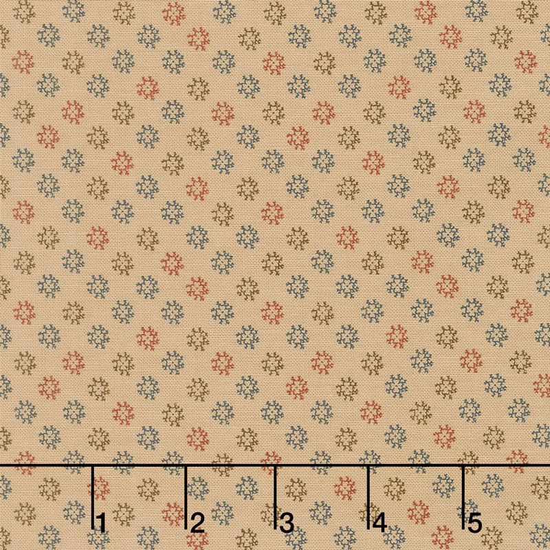 Shelbyville - Flower Tan Yardage