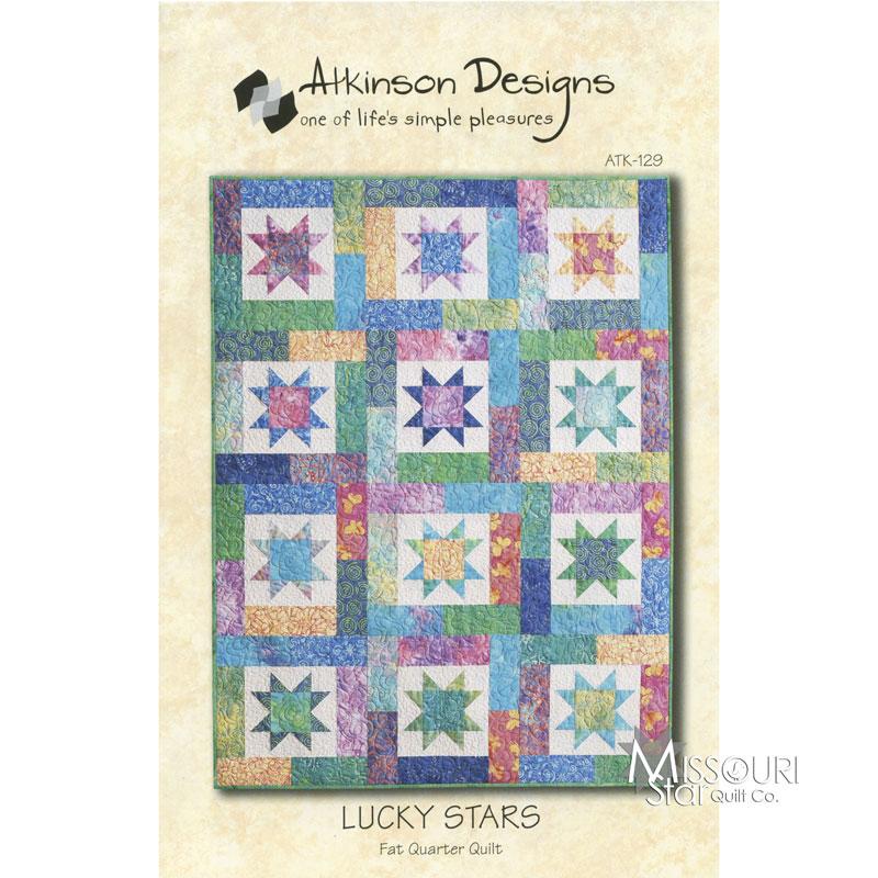Lucky Stars Fat Quarter Quilt Pattern - Atkinson Designs Missouri Star Quilt Co.