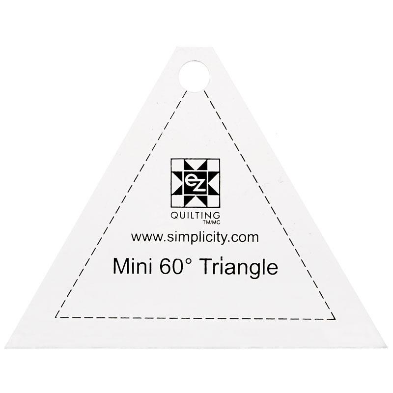 Ez Quilting Jelly Roll Ruler Mini 60º Triangle