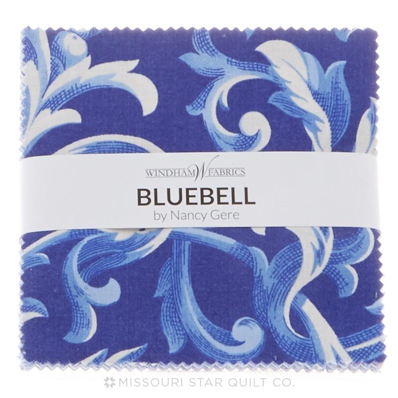 Bluebell Charm Pack Nancy Gere Windham Fabrics