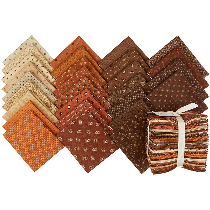 Cheddar & Chocolate Fat Quarter Bundle