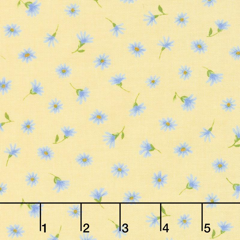 Summer Breeze VI - Daisies Yellow Yardage