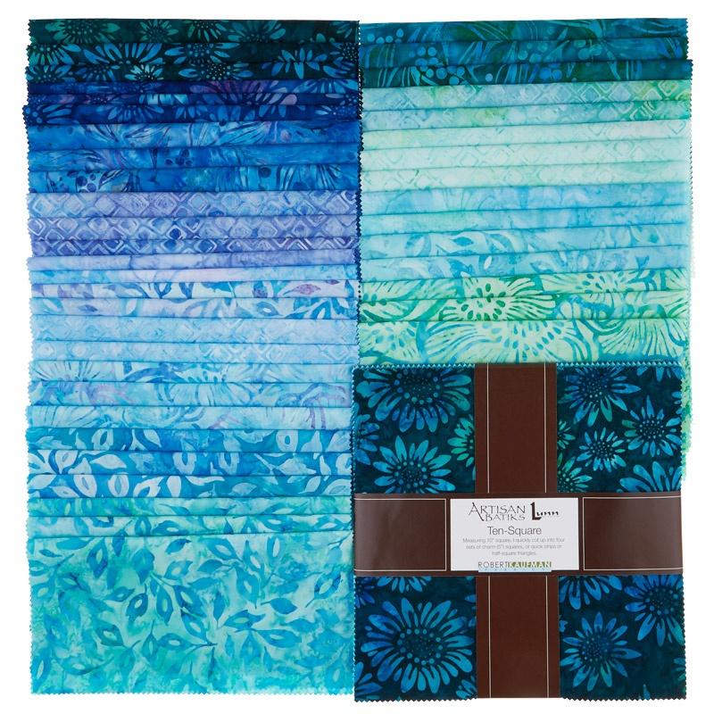 Artisan Batiks - Greenhouse 3 Ten Squares