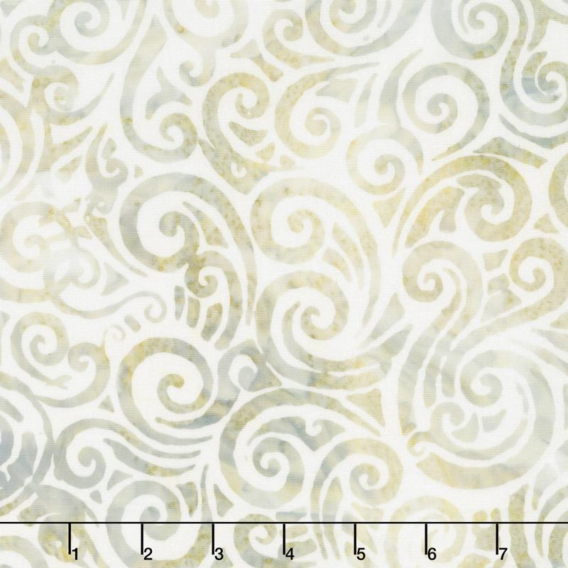 Whisper Batiks 2 - Swirl Whisper Yardage