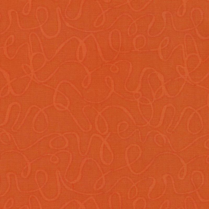 Scribbles - Blood Orange Yardage