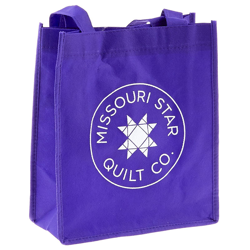 Missouri Star Reusable Shopping Tote - Purple