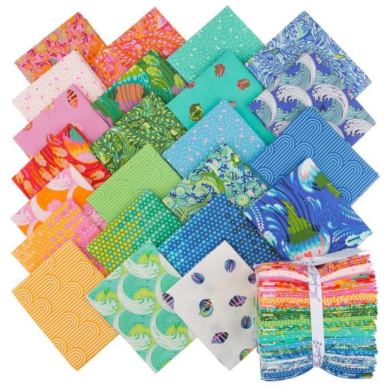 d82dc4078b1de6 Zuma Fat Quarter Bundle - Tula Pink - FreeSpirit Fabrics