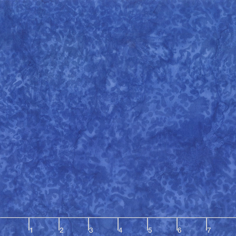 Islander Batiks - Coral Bluebird Yardage