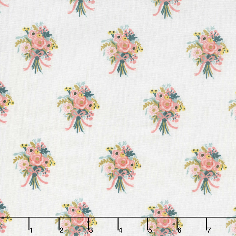 English Garden - Bouquets Cream Yardage