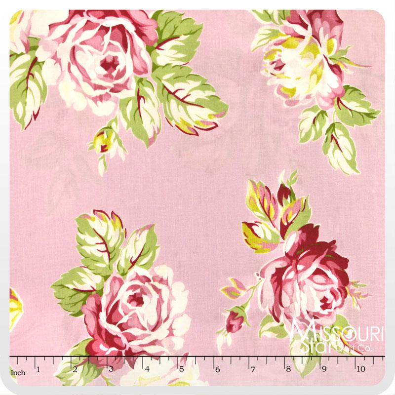 Sunshine Rose - Pink Yardage