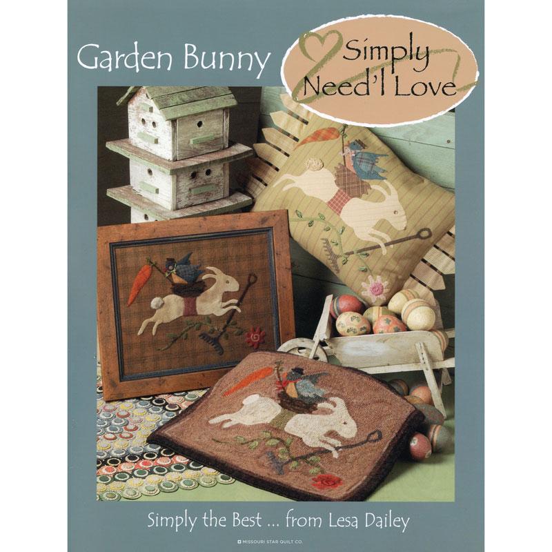 Garden Bunny Simply Booklet