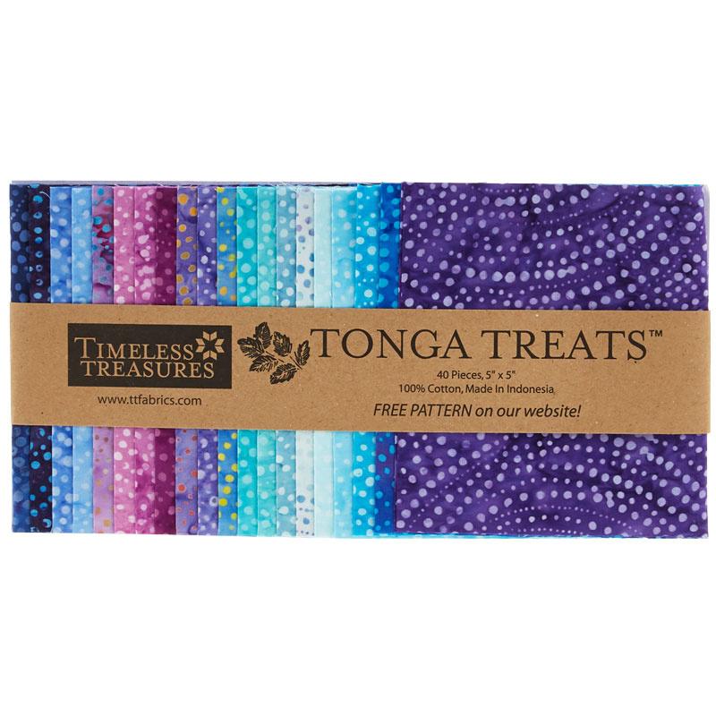 Tonga Treats Batiks - Colorwheel Plume Minis