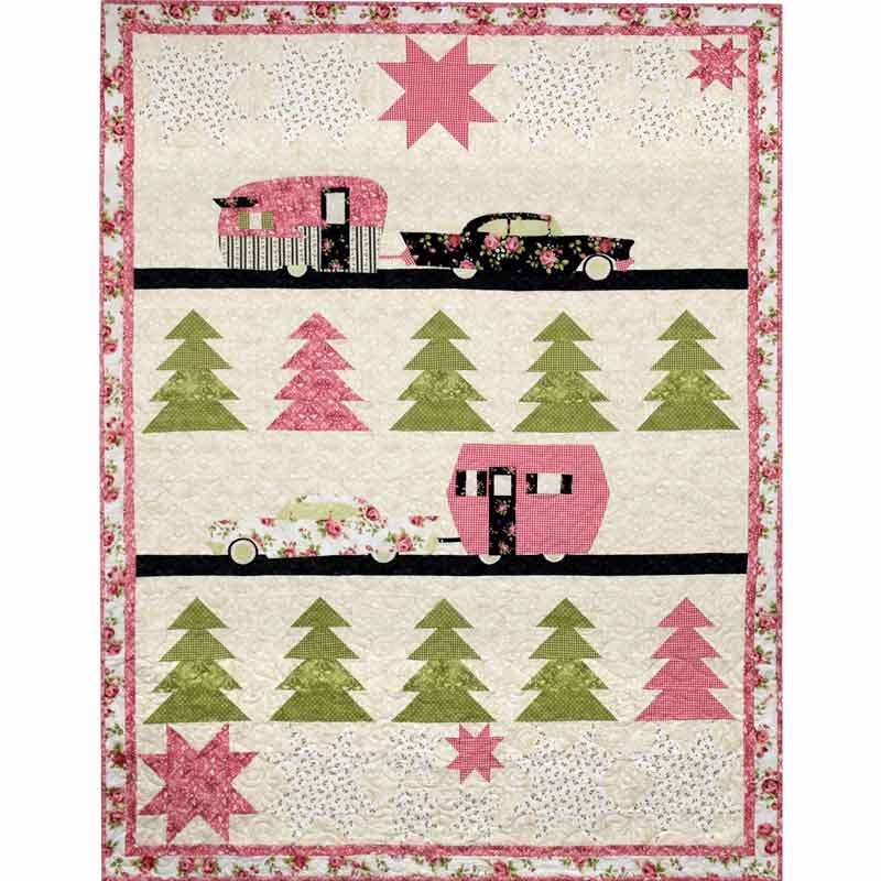 Image result for Welcome Home Flannel Glamping Quilt Kit, Maywood Studio