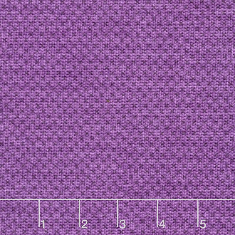 Tone On Tone Color Part - 19: Kisses - Kisses Tone On Tone Color Purple Yardage