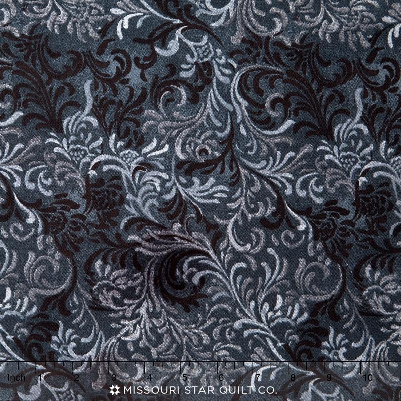 Wilmington Essentials - Flourish Black 108
