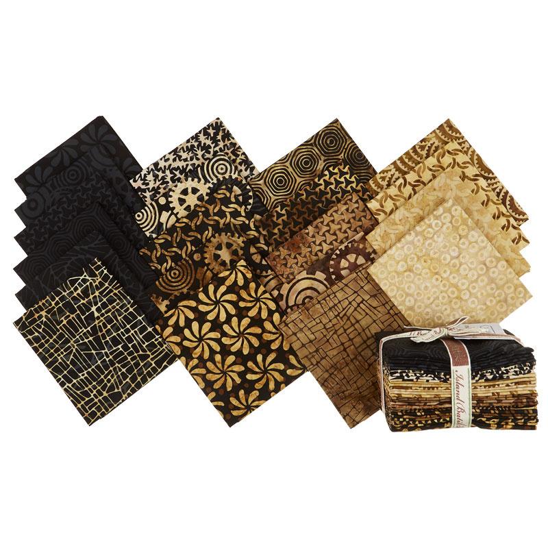 Geared Up Batiks Fat Quarter Bundle