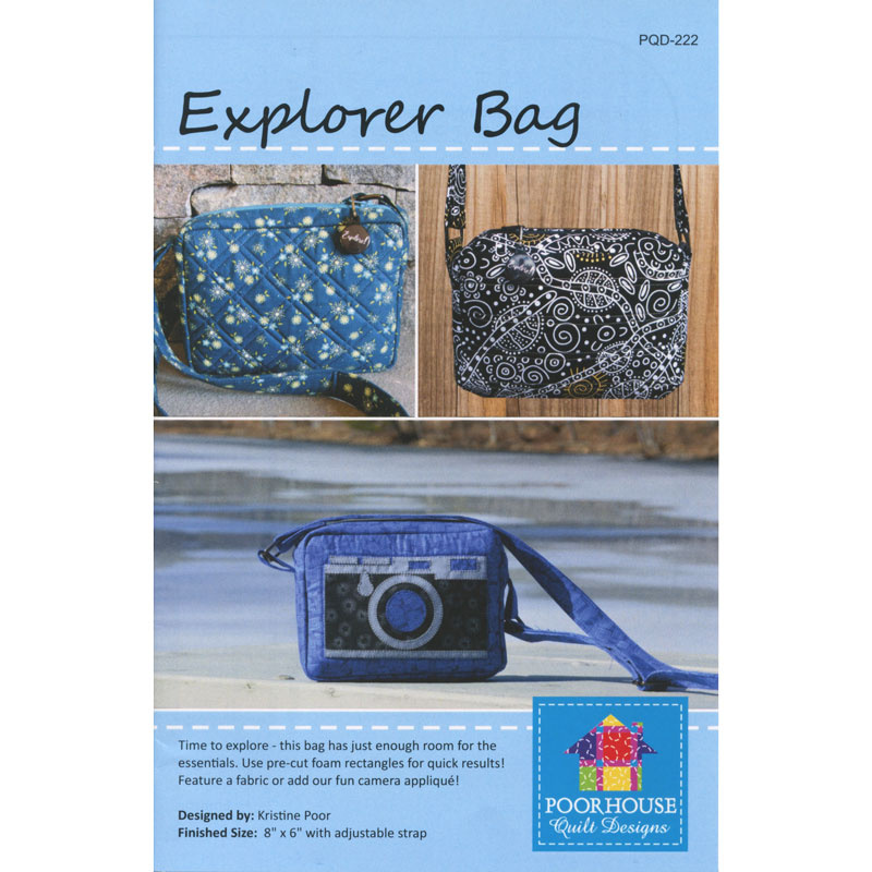 Explorer Bag Pattern