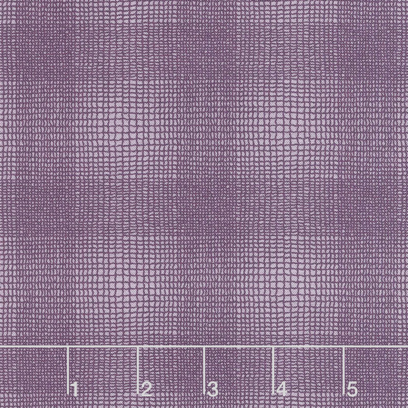 Clover Meadow - Textured Plaid Purple Yardage