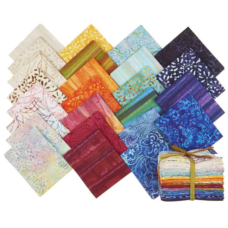 Parfait Batiks Fat Quarter Bundle