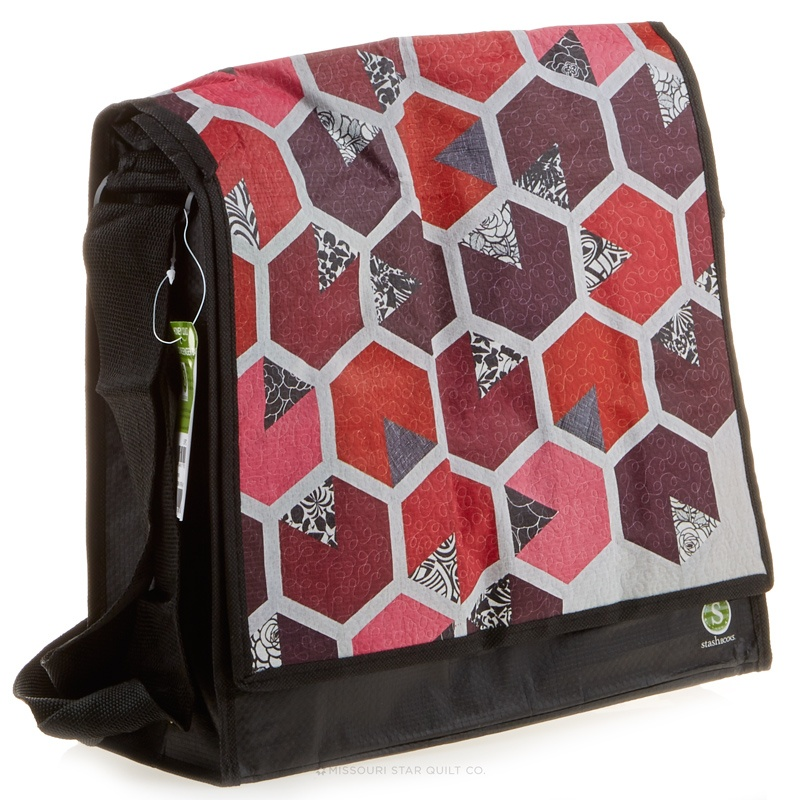 Honey Quilt Messenger Bag