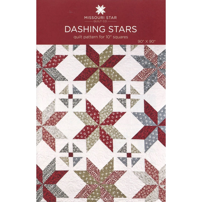 Dashing Stars Quilt Pattern by MSQC - MSQC - MSQC — Missouri Star ... : star quilt pattern - Adamdwight.com