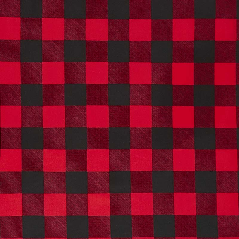 Plaid >> 108 Quilt Back Buffalo Plaid Red 108 Wide Backing