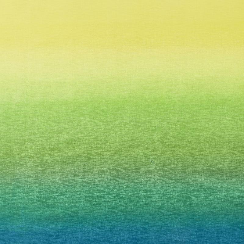Gelato - Ombre Yellow/Teal Yardage