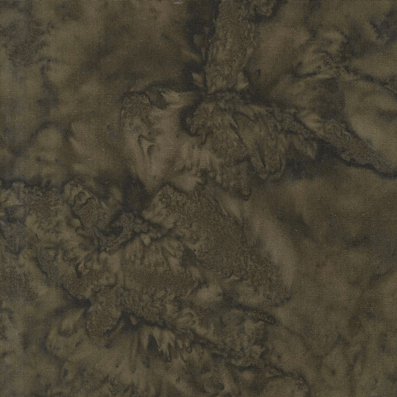 Lava Batik Solids - Earth Lava Soil Yardage