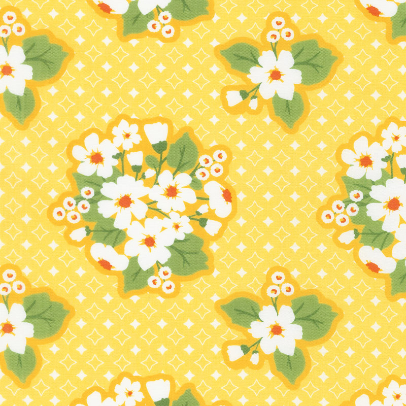 All-Weather Friend - Last Blooms Sunshine Yardage