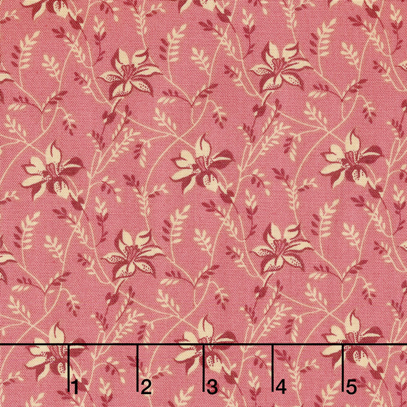 Sequoia - Buds and Vines Pinkberry Yardage