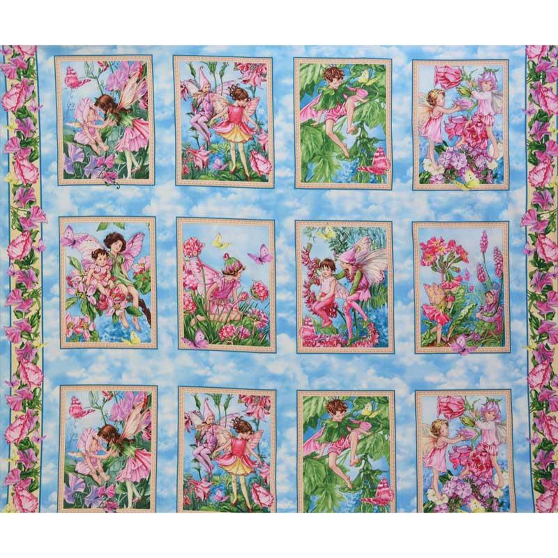 Whisper Flower Fairies - Fairy Whispers Multi Panel