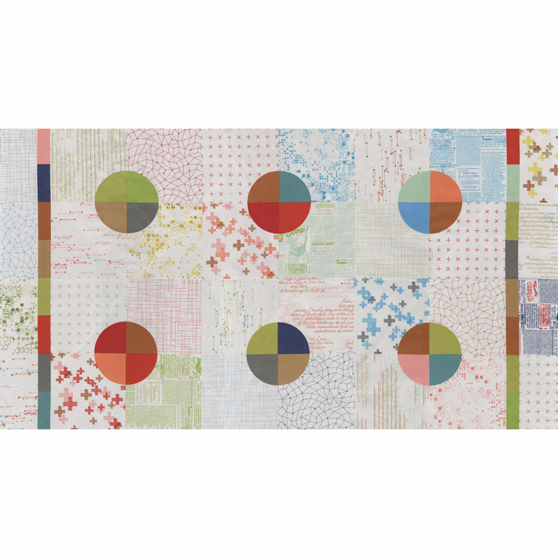 Modern Backgrounds Colorbox - Cheater Quilt Fog Panel
