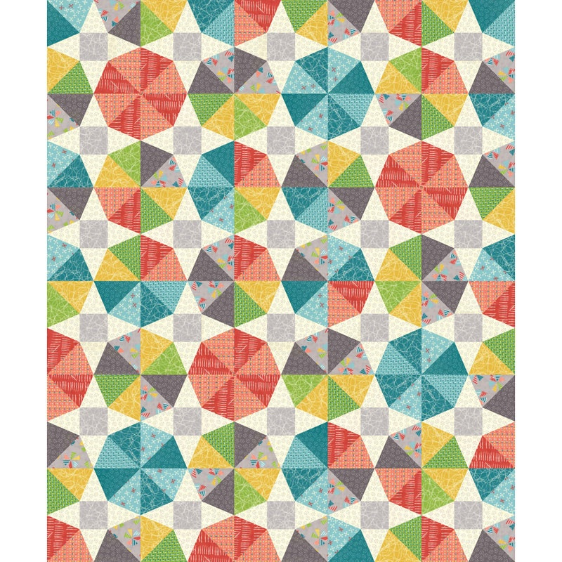 Merry Go Round Kit - Moda Fabrics — Missouri Star Quilt Co. : merry go round quilt - Adamdwight.com