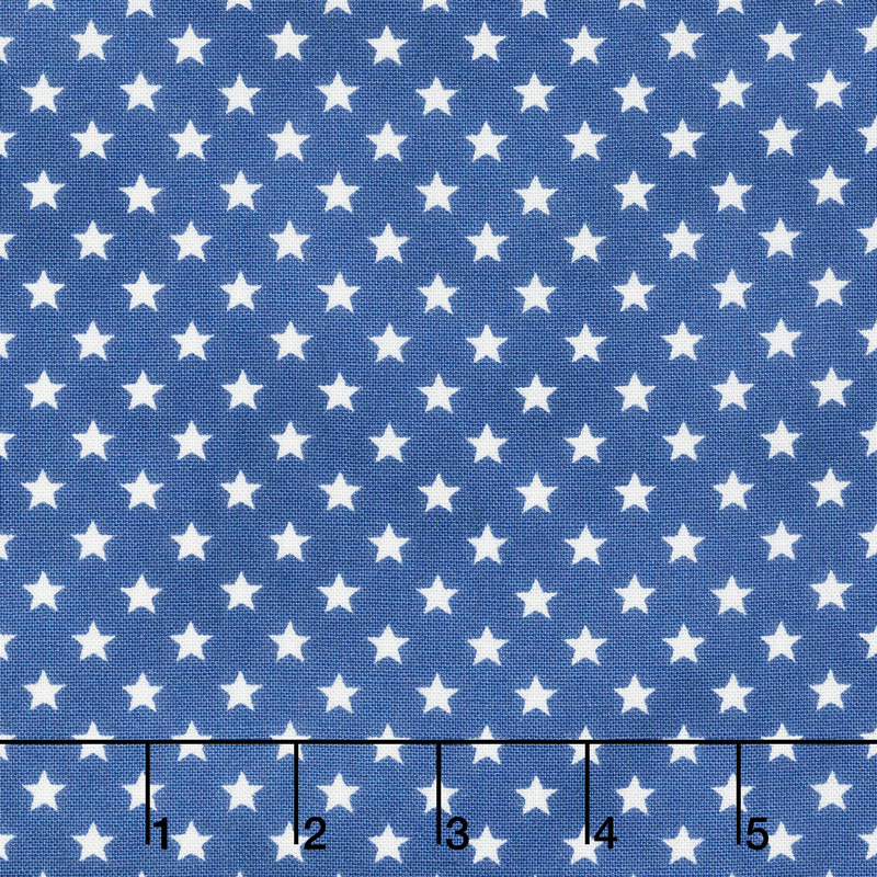 Land That I Love - Stars in a Row Brave Blue Yardage