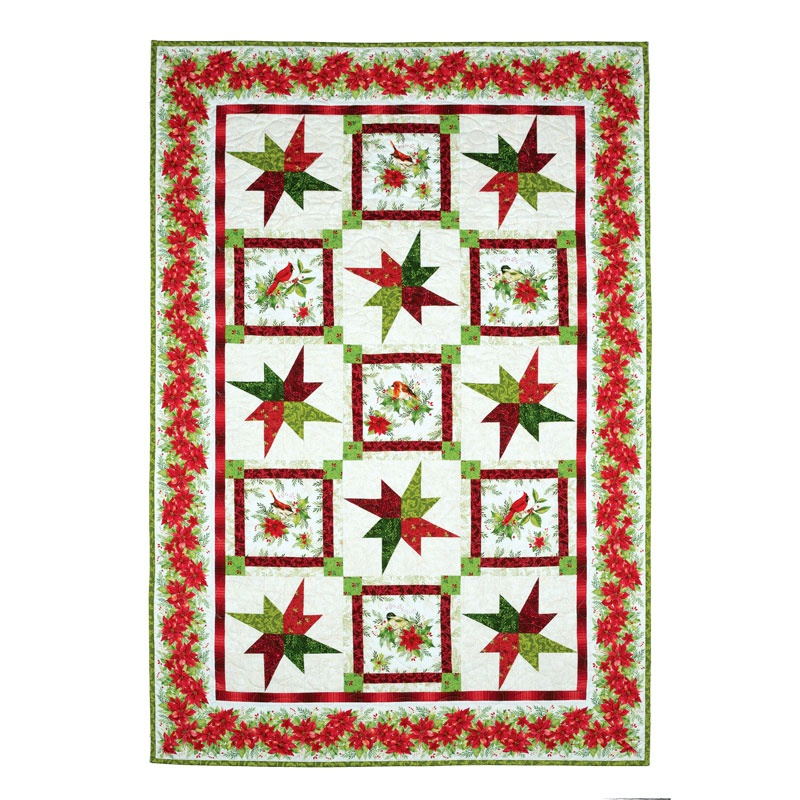 Songbird Christmas Quilt Kit