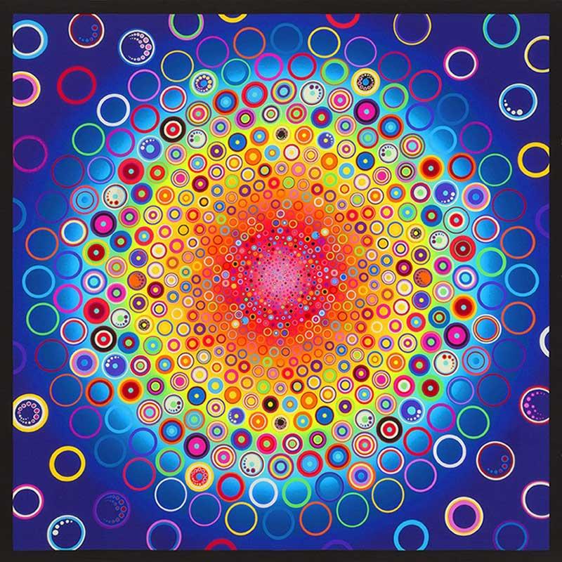 Effervescence - Rainbow Digitally Printed Panel