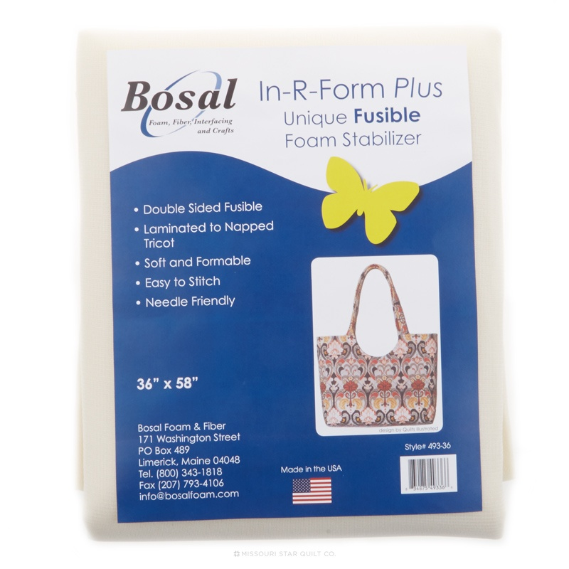 In-R-Form Plus Double Sided Fusible Foam Stabilizer*** USE NOT2314 from Now On*****