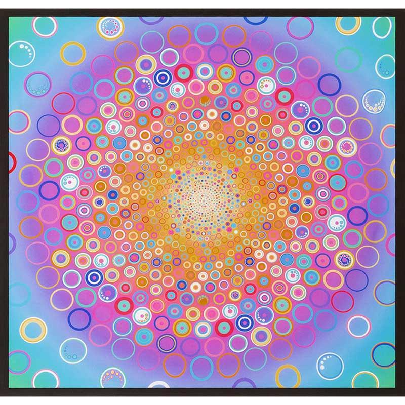 Effervescence - Pastel Digitally Printed Panel