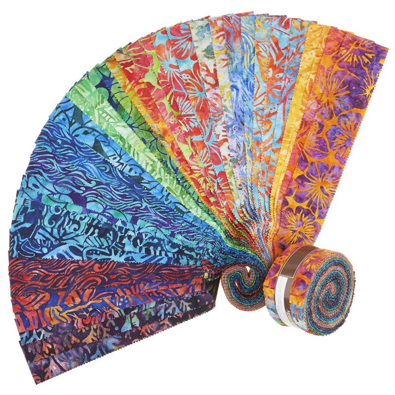 Artisan Batiks - Totally Tropical Roll Up