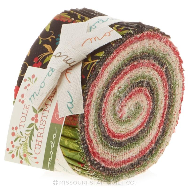 Tole Christmas Jelly Roll - Gina Martin - Moda Fabrics — Missouri ...
