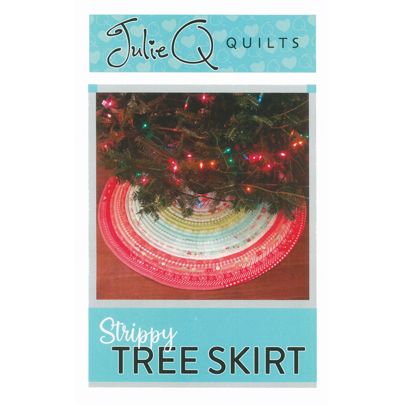 Mini Christmas Tree Skirt Pattern.Strippy Tree Skirt Pattern