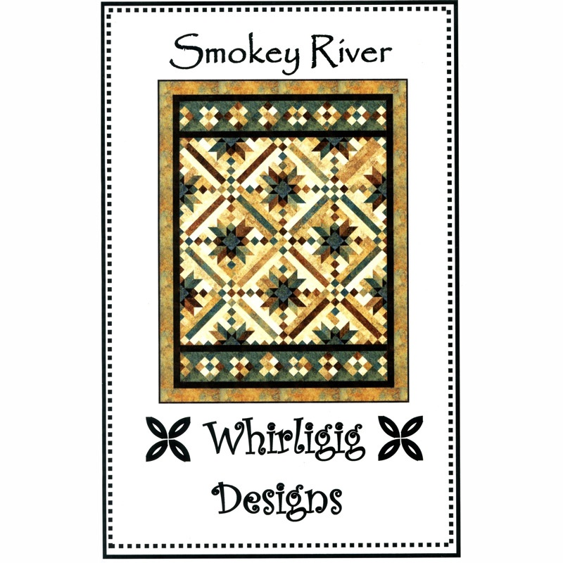 Smokey River Pattern - Chris Hoover - Whirligig Designs — Missouri ... : smokey river quilt kit - Adamdwight.com