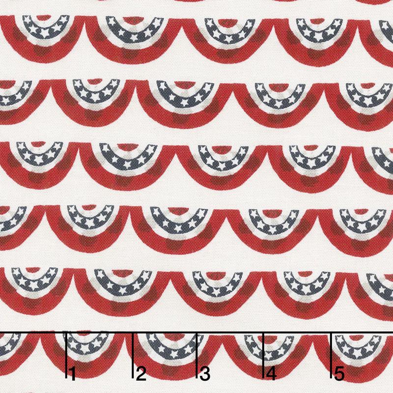 Celebrate America! - Banners Cream Yardage