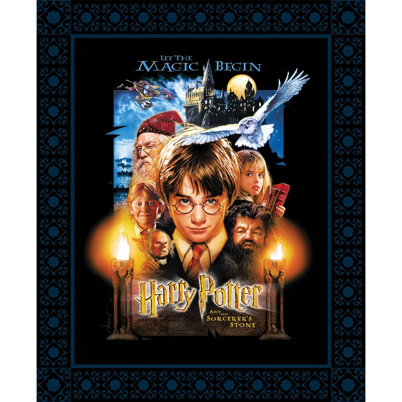 Harry Potter - Sorcerer's Stone Poster Black Digitally
