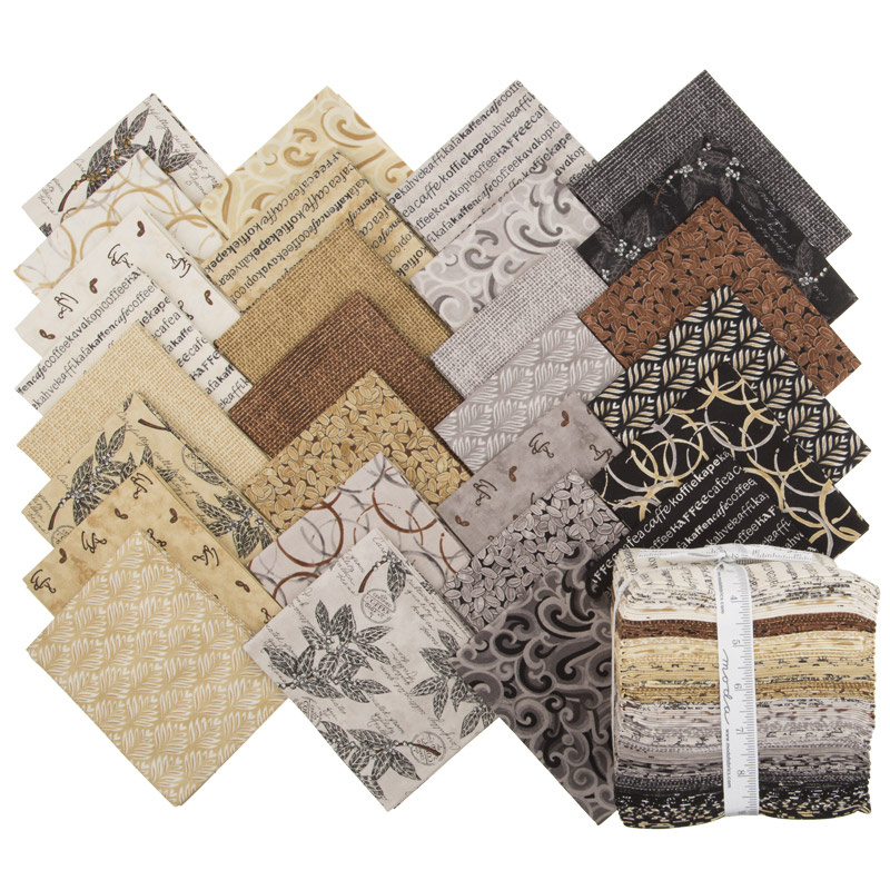 Brew Fat Quarter Bundle Deb Strain Moda Fabrics