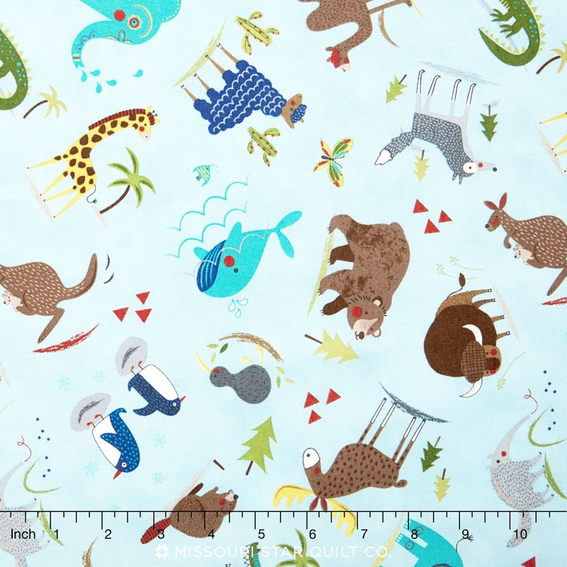 Hello World - Wild Things Sky Yardage