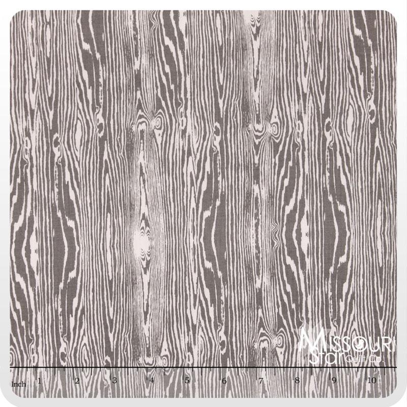 True Colors - Wood Grain Gray Yardage