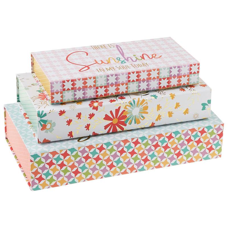 Sunnyside Up Storage Boxes