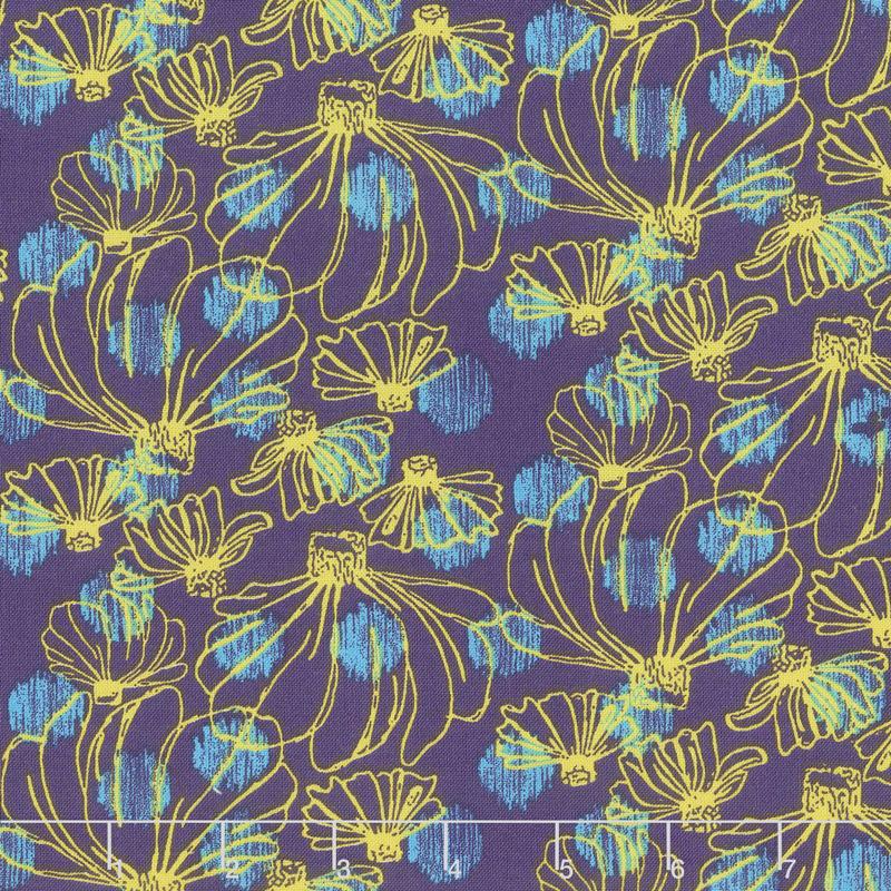 Homeward - Summer Dress Purple Yardage